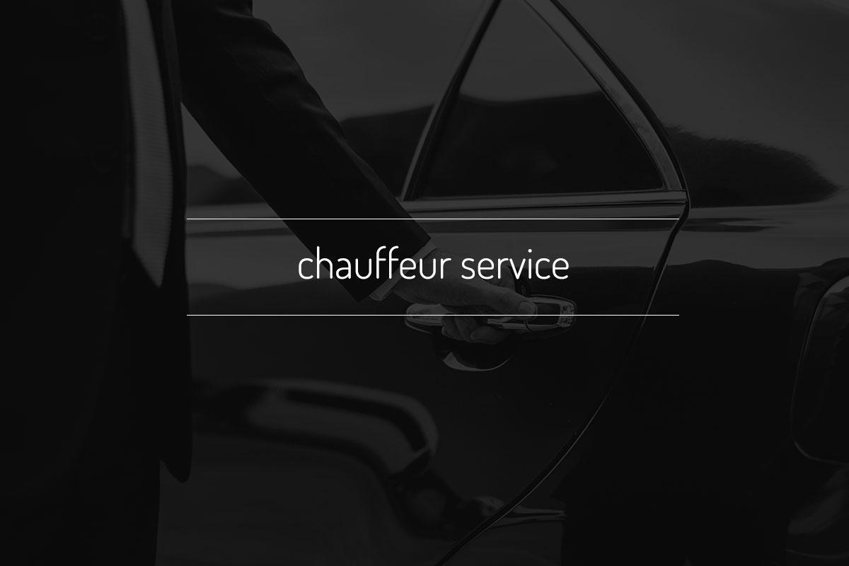 Chauffeur Service 2