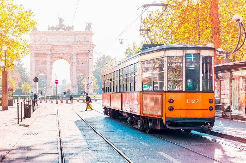 Autonoleggio con Autista Milano - Arco della Pace
