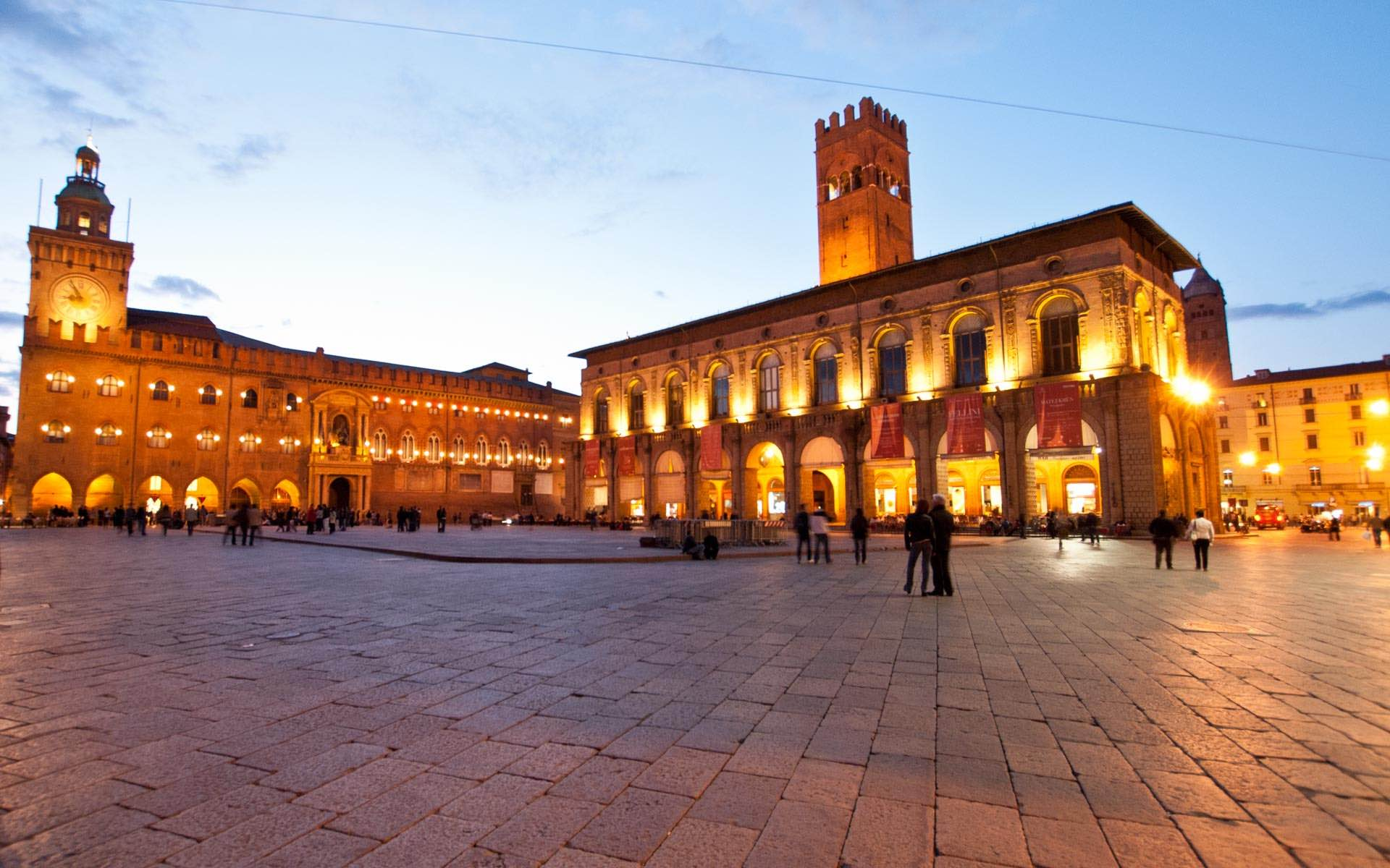 Chauffeur & Limousine Service Bologna - Piazza Maggiore