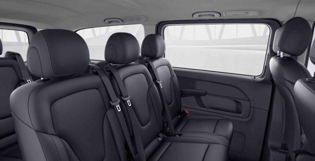 Luxury-Chauffeur-Car-Service-Milan-V-Class-Minivan-Interior